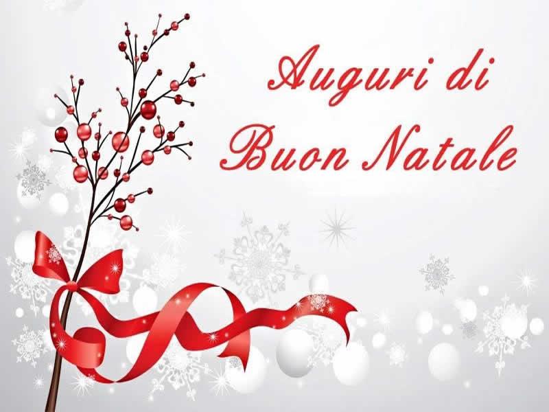 Immagini natalizie e sfondi di Natale con Auguri di Buon Natale