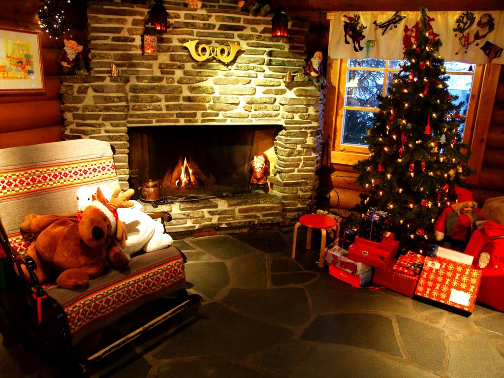 Sfondo Natalizio - Addobbi natalizi Casa