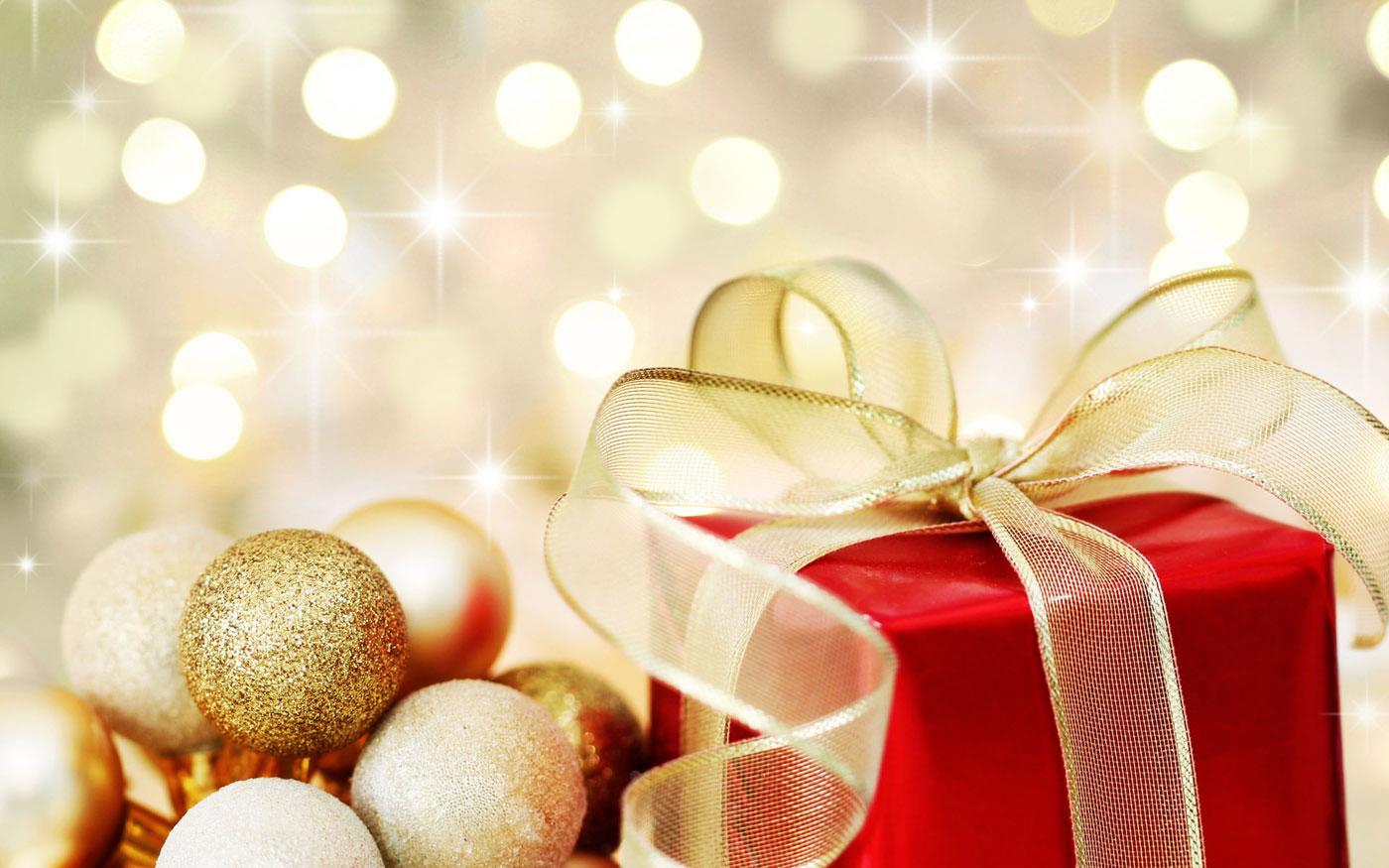 Sfondo Palline di Natale
