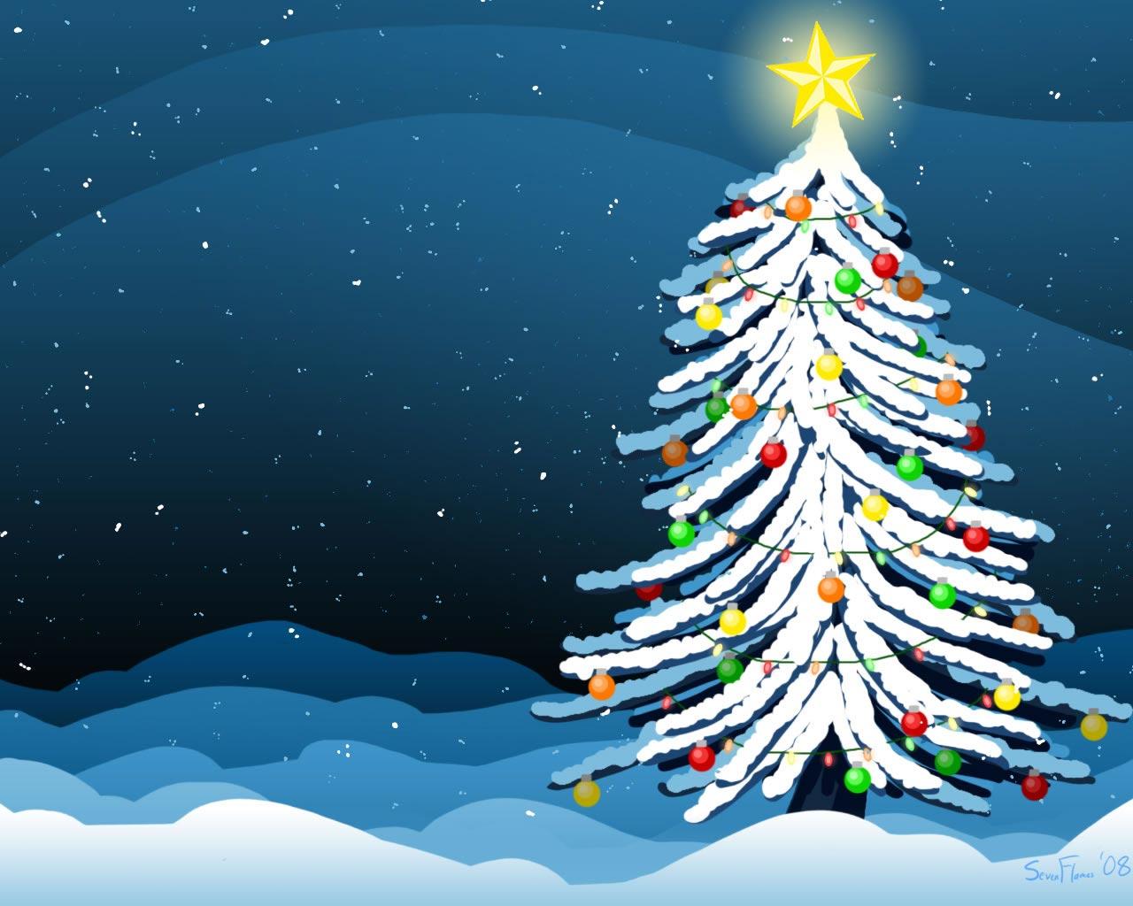 Sfondo Natalizio - Sfondo Natale albero