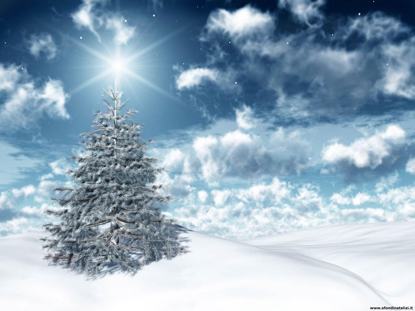 Immagini Di Natale Desktop.Sfondo Desktop Natale Sfondi Desktop Albero Di Natale