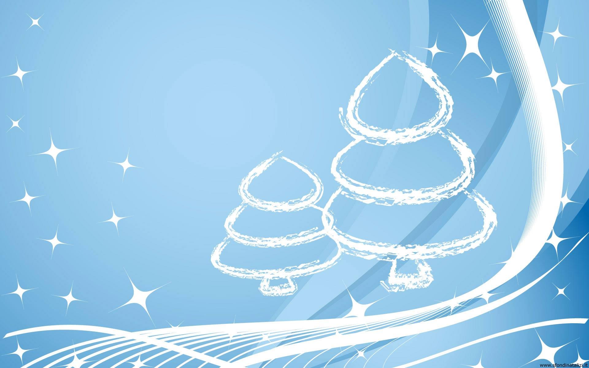 Immagini Natale Desktop.Sfondo Desktop Natale Alberi Di Natale