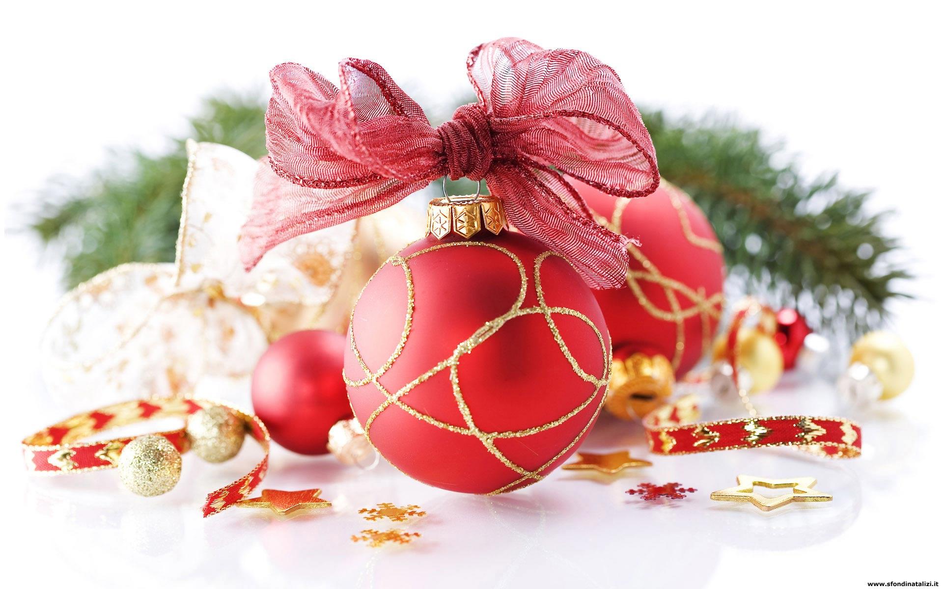 Sfondo natalizio sfondo desktop palline natale for Immagini natale gratis