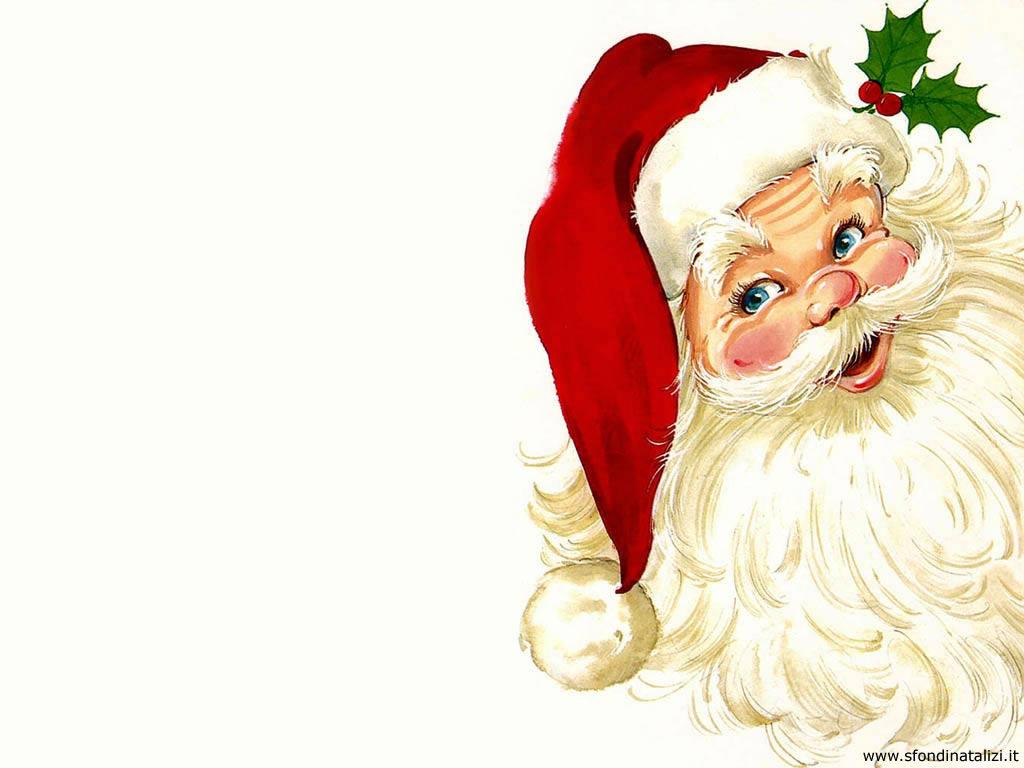 Babbo Natale X Desktop.Sfondo Desktop Natale Babbo Natale