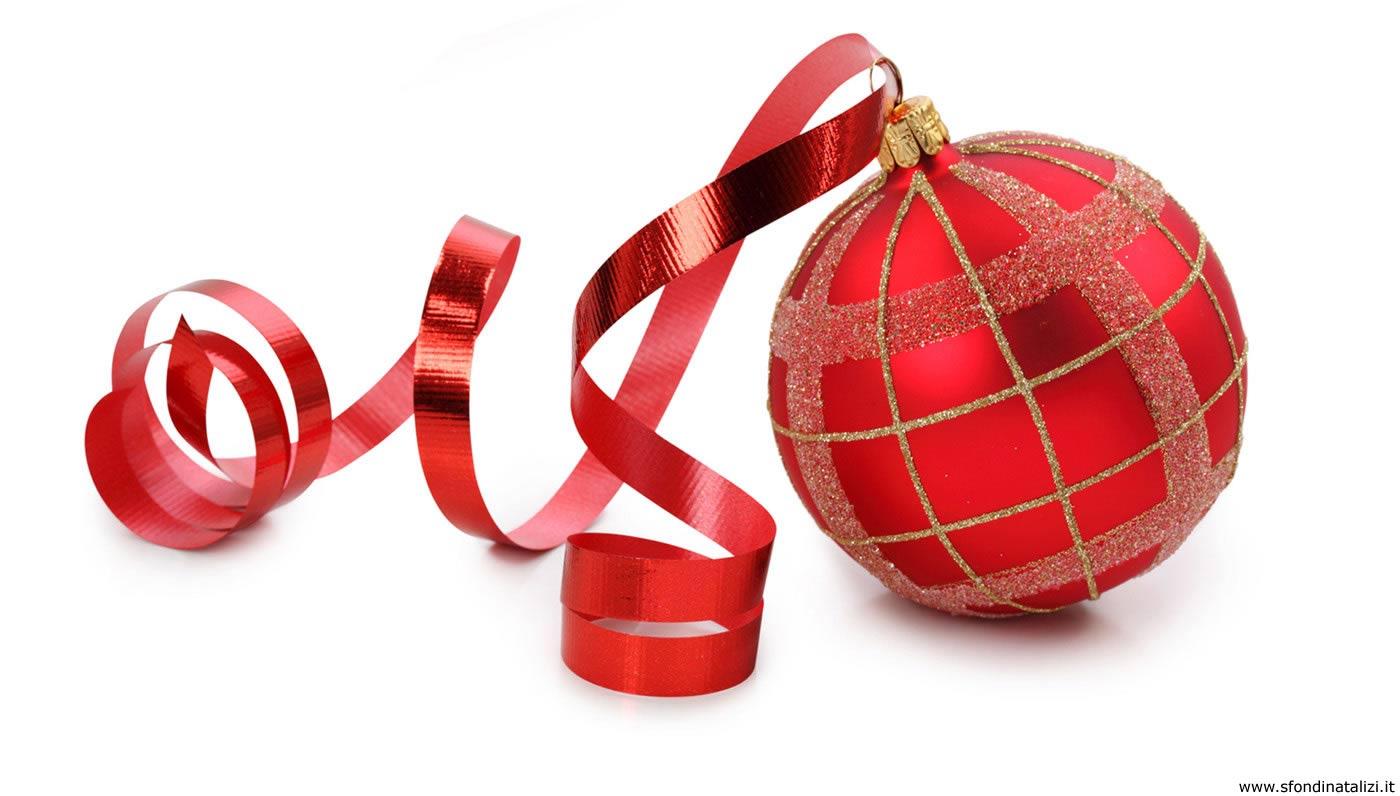 Sfondo Natalizio - Sfondo desktop natalizio Pallina