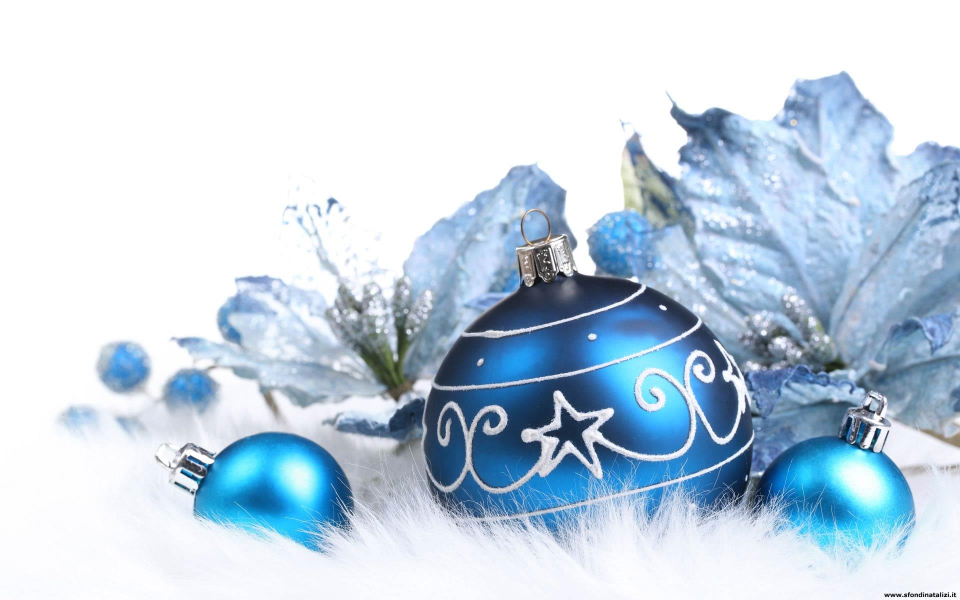 Sfondo Natalizio - Sfondo desktop Palle Natale