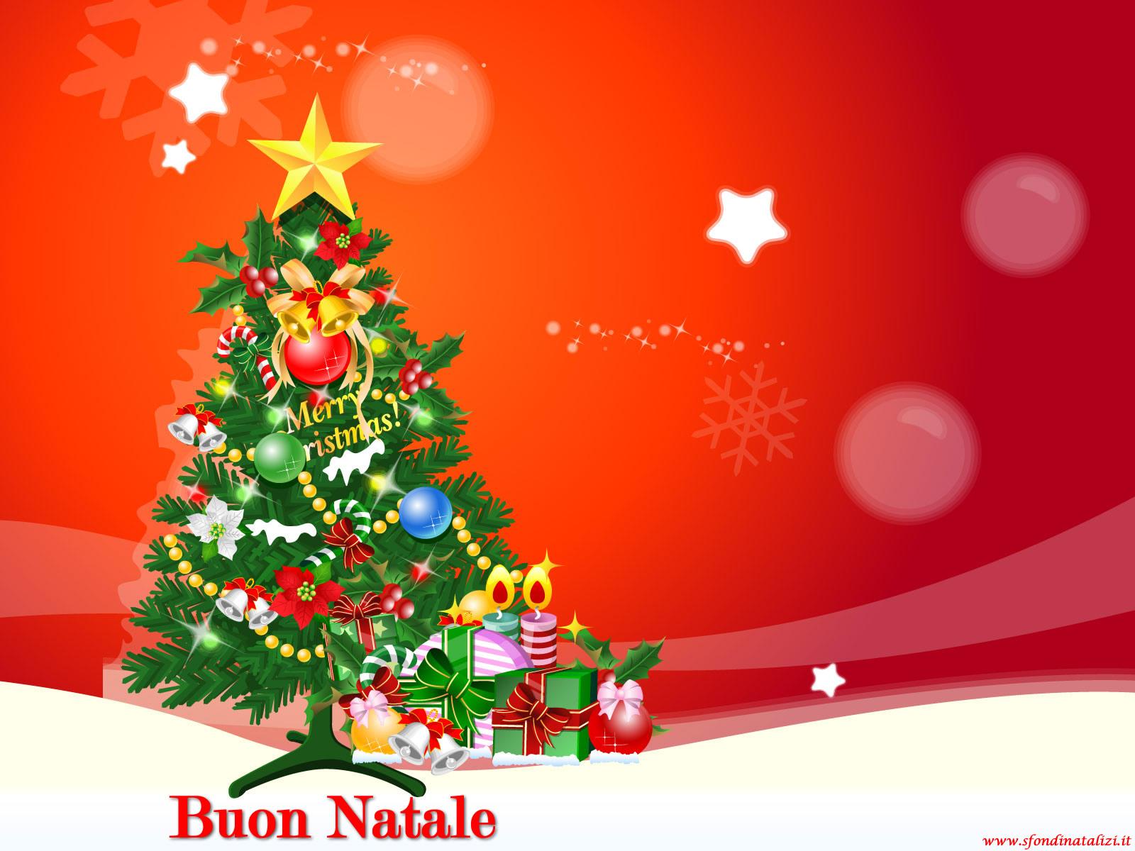 Sfondo Natalizio - Sfondo di Natale albero