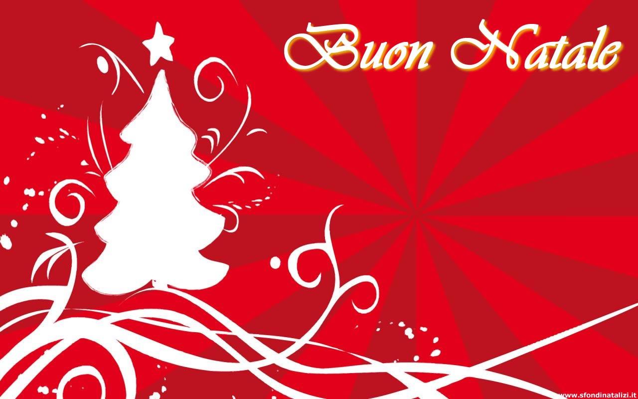 Sfondo Natalizio - Sfondo di Natale rosso