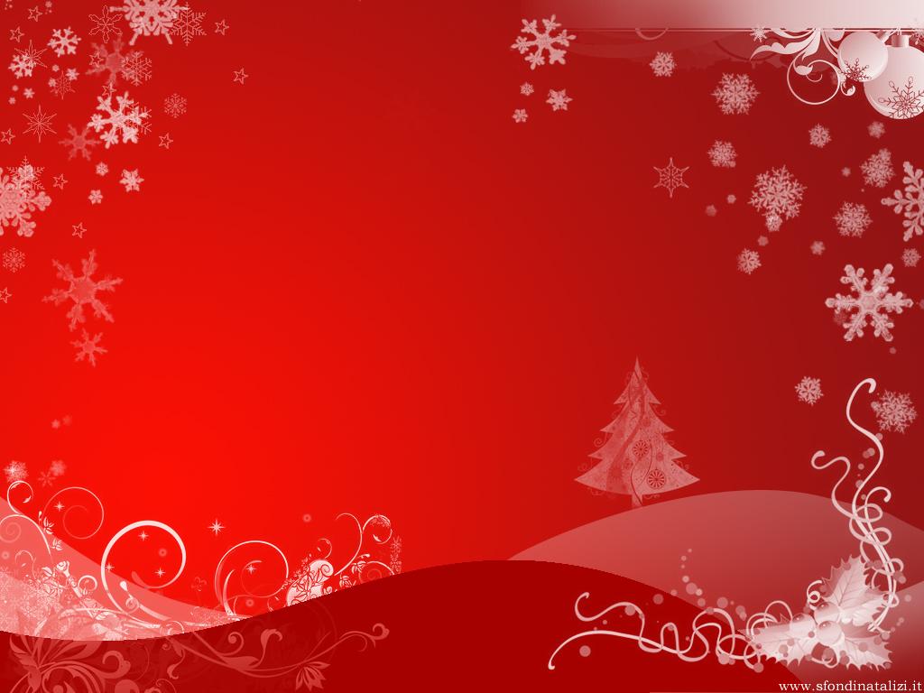 Sfondo Natalizio - Sfondo natalizio rosso