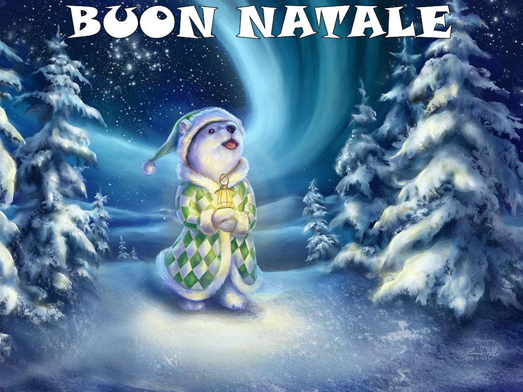 Sfondo Natalizio - Sfondo Pupazzo di Neve