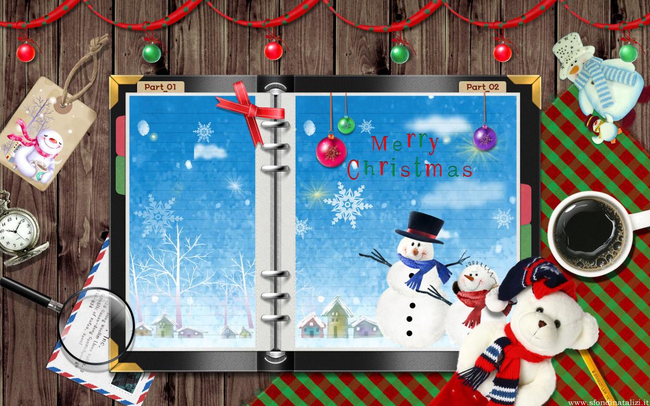 Sfondo Natalizio - Sfondo natalizio carino