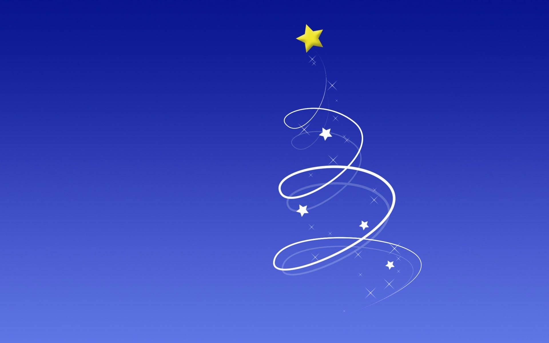 Sfondo Natalizio - Sfondo natalizio azzurro