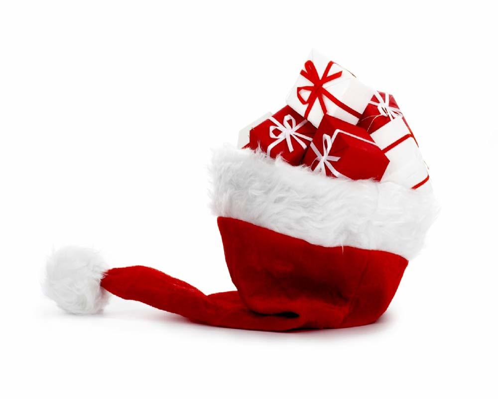 Sfondo natalizio regali di natale - Immagine di regali di natale ...