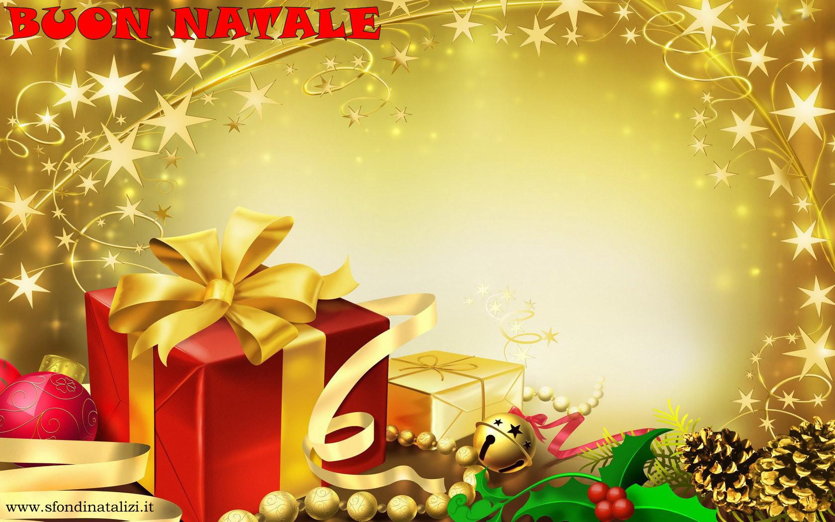 Sfondo Natalizio - Sfondo natalizio luminoso