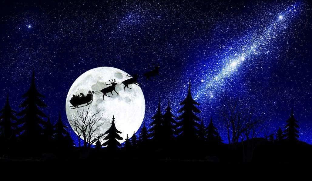 Sfondo Natalizio - Sfondo Natalizio notturno