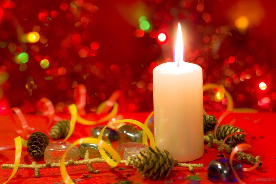 Sfondo Natalizio - Sfondi desktop natalizi Candela