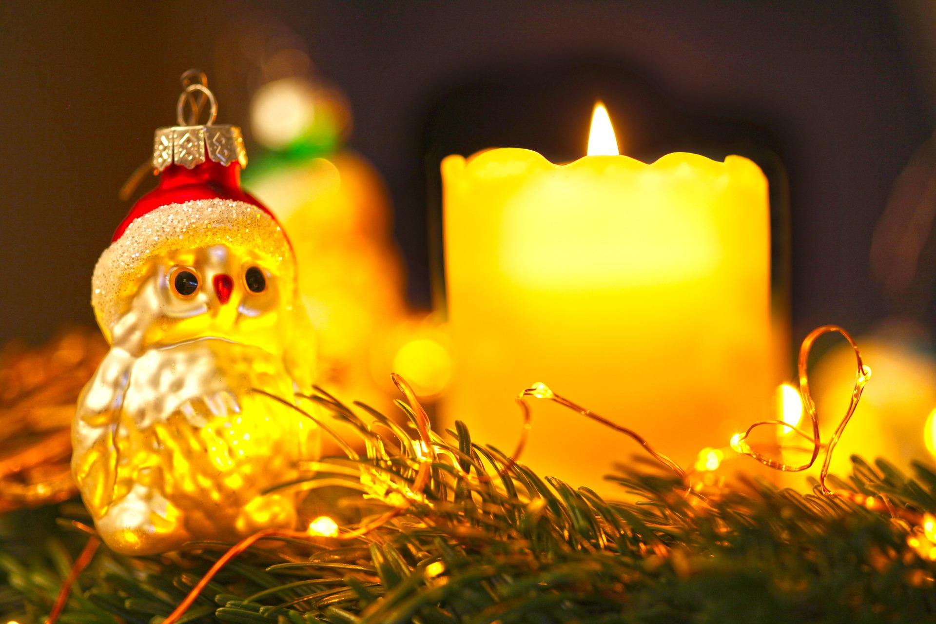 Sfondo di Natale - Sfondi di Natale Candele