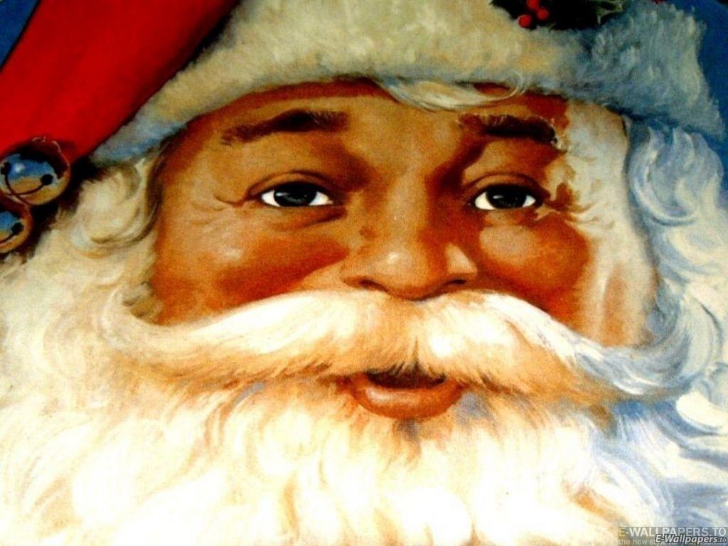 Sfondo Natalizio - Sfondi Natalizi Babbo Natale volto