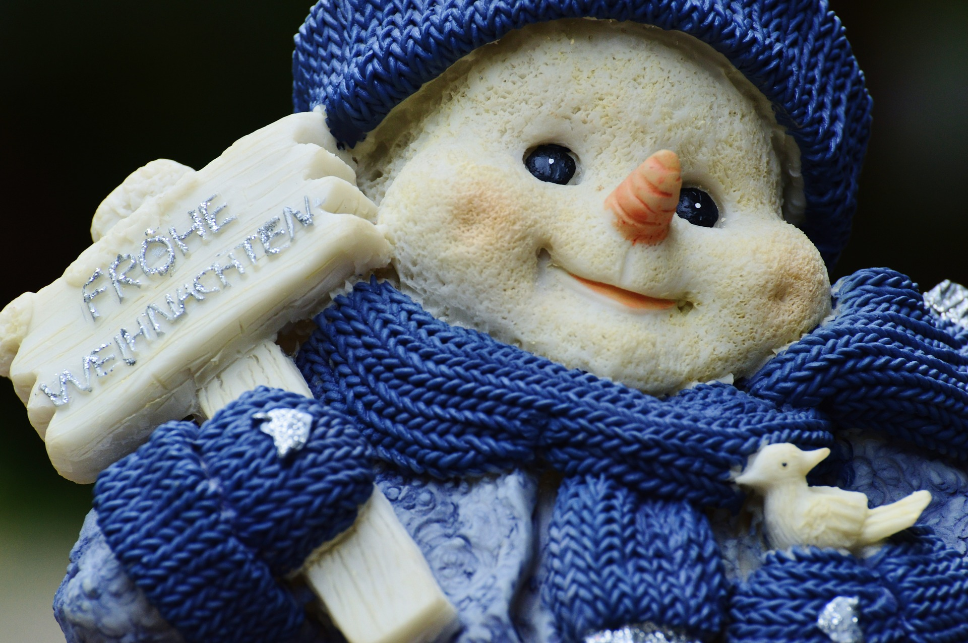 Sfondo desktop Natalizio - Sfondi natalizi pupazzo di neve