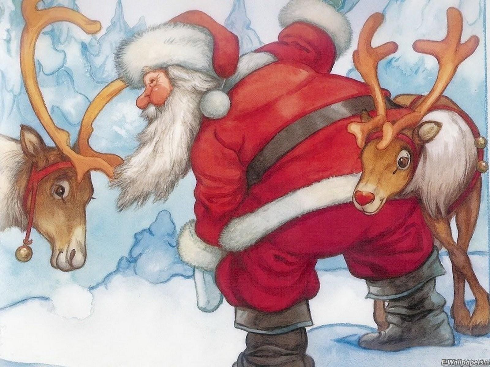 Sfondo Natalizio - Sfondo Babbo Natale Bello