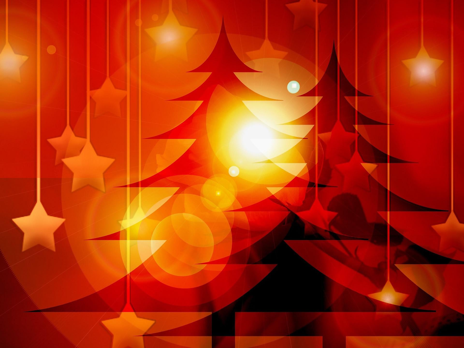 Sfondo Natalizio - Sfondo natalizio Alberi di Natale