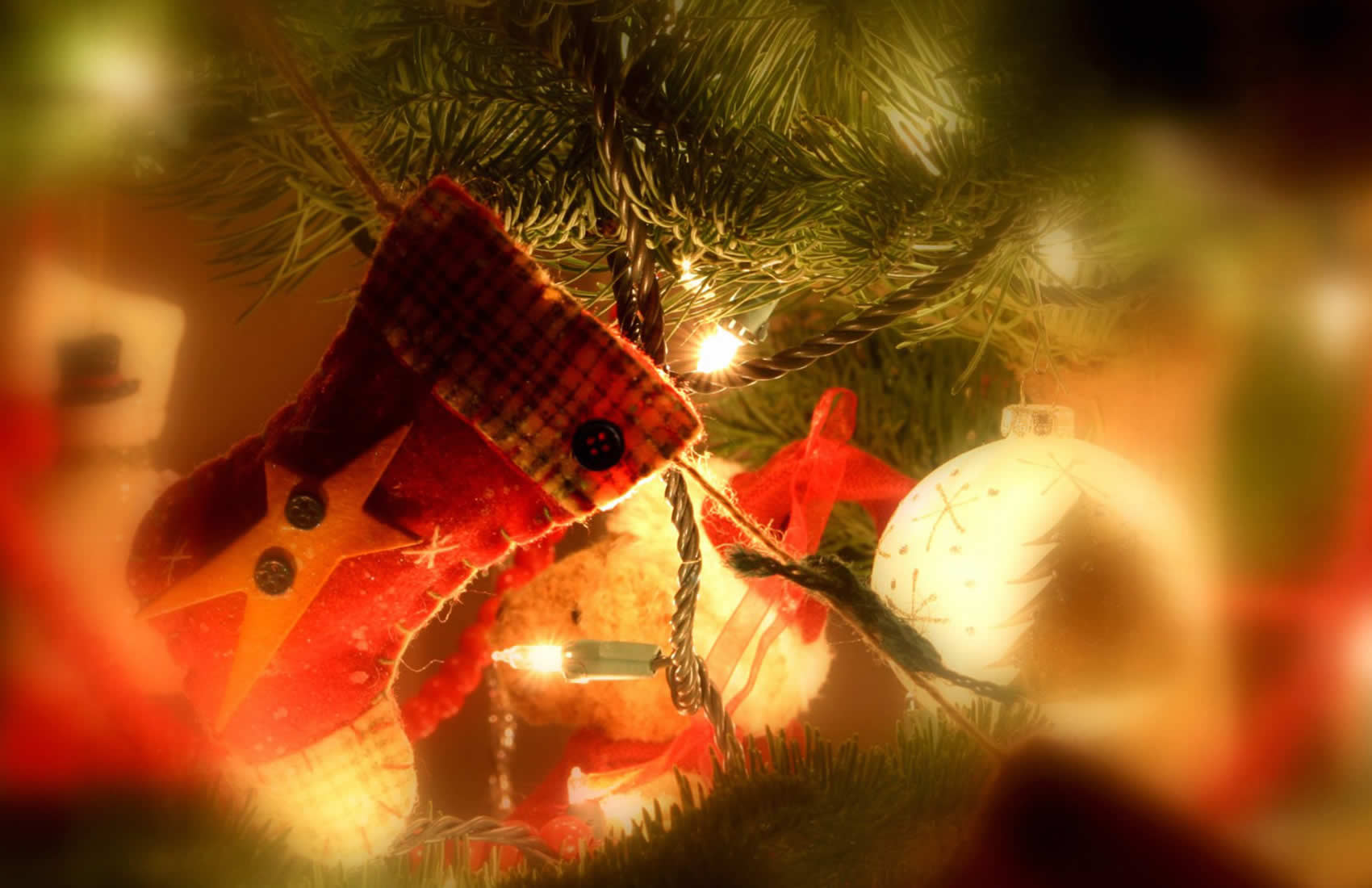Sfondo natalizio desktop bello